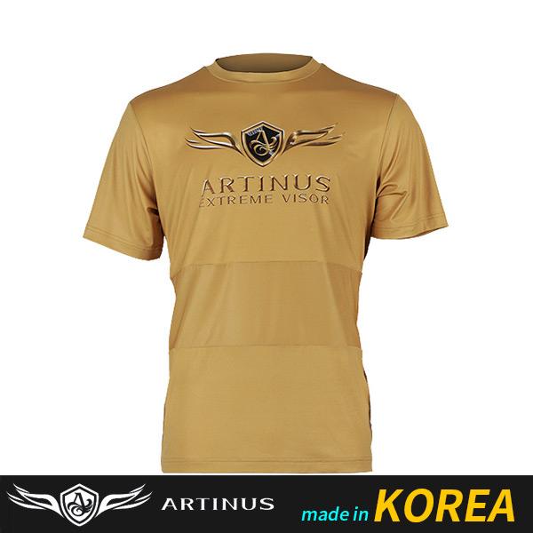 ((아티누스)) 쿨라운드 반팔티셔츠 AT-689