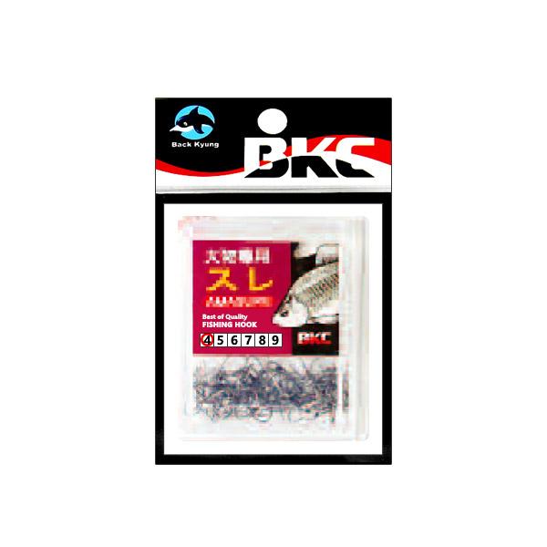 백경조침/ BK-260 대물전용수레 100(무미늘 붕어바늘)