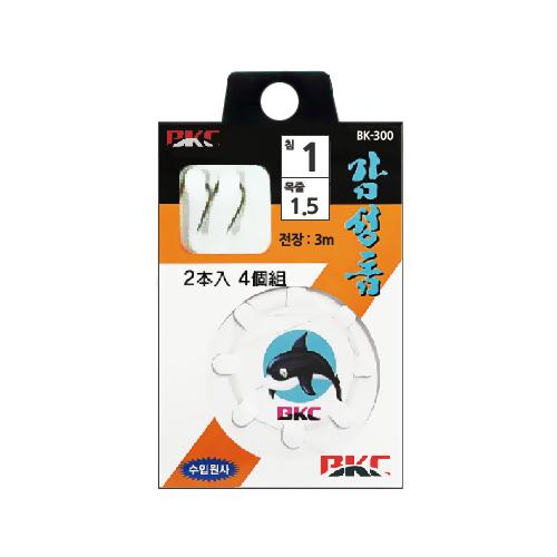 백경조침/ 감성돔카드 (흑) (BK300)