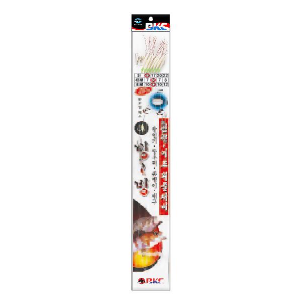 백경조침/ 침선어초외줄채비 어피 BK-332