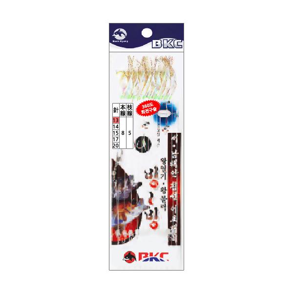 백경조침/ 서남해안침선어초 10본 반짝이 BK-377