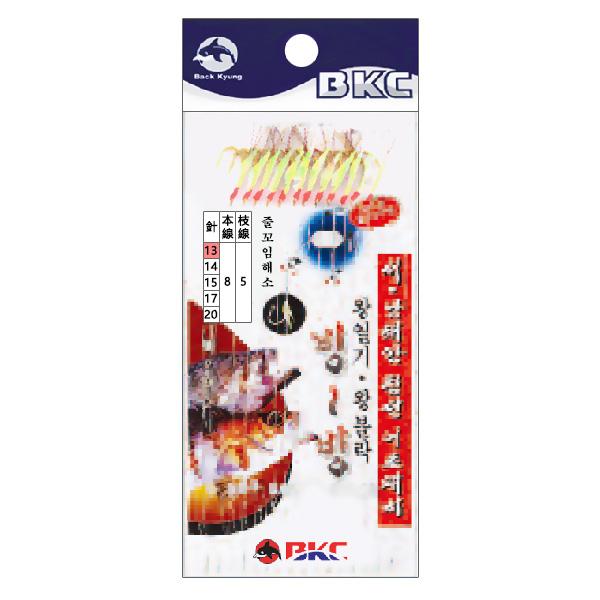 백경조침/ 서남해안침선어초채비 12본 반짝이 BK-314