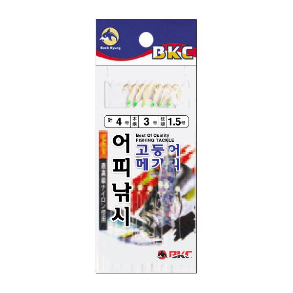 백경조침/ 어피낚시 BK-346 고등어 전갱이 메가리채비