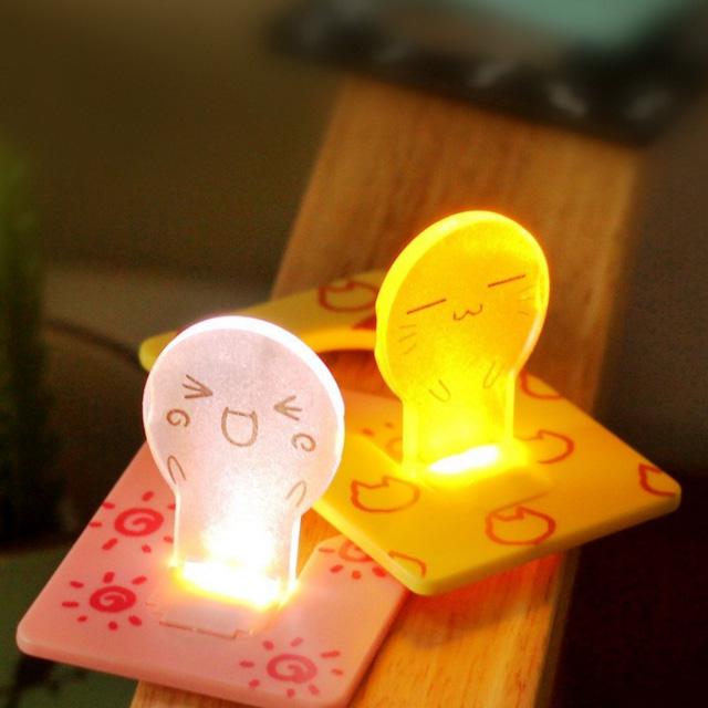 귀요미 미니 카드 LED 무드등