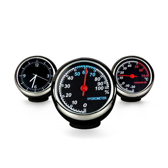 차량용 인테리어 시계/습도계/온도계