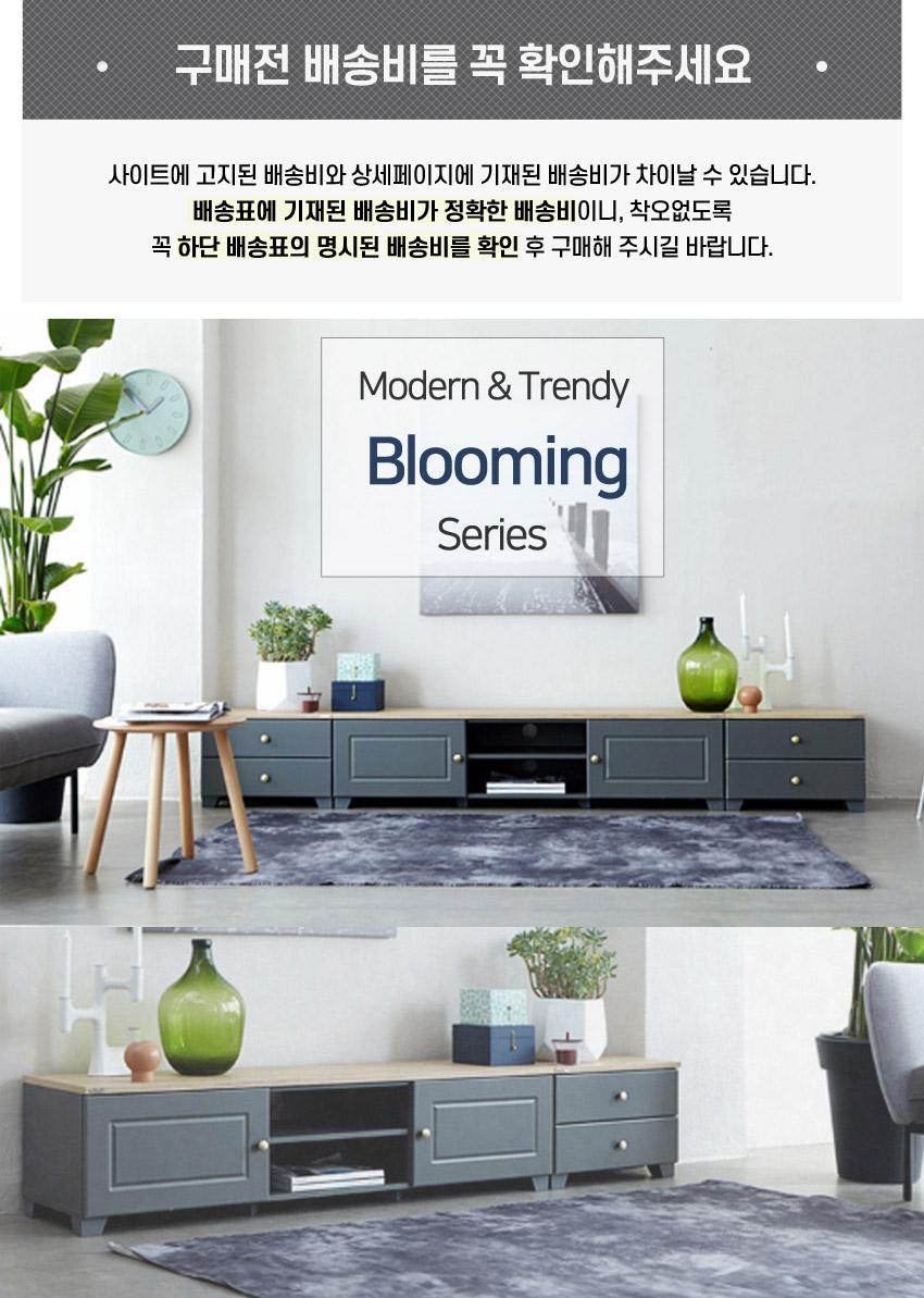 블루밍 1500 거실장 - 히트디자인, 164,000원, 수납/선반장, 수납장