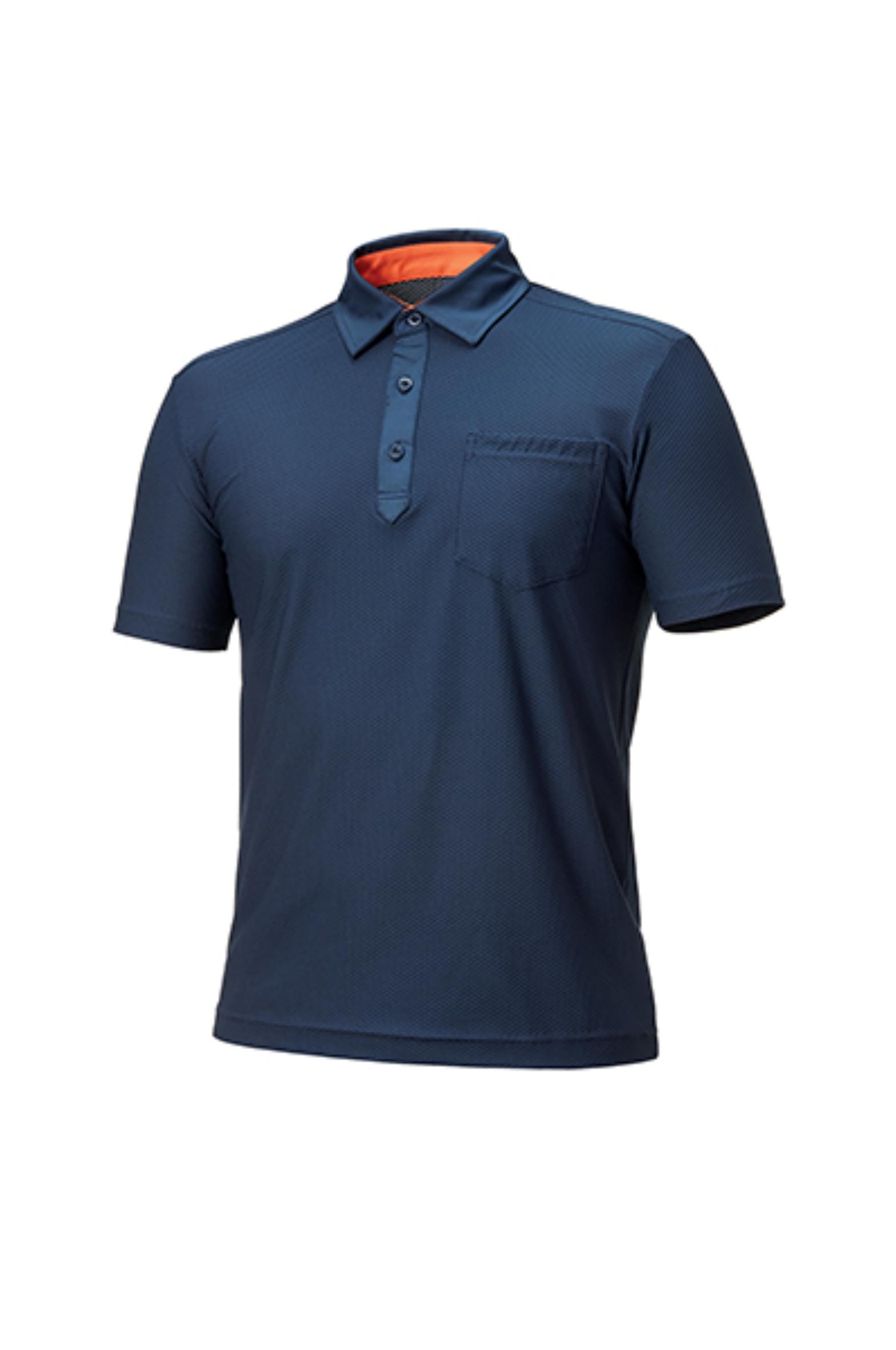 ZB-T1631 (네이비)지벤 작업복 티셔츠(스판)