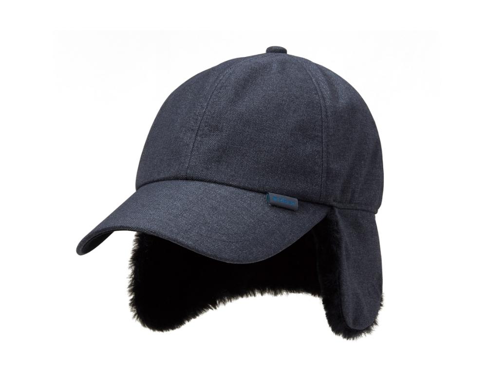 ZB-A301 (멜란지 그레이)지벤 귀달이 방한 모자