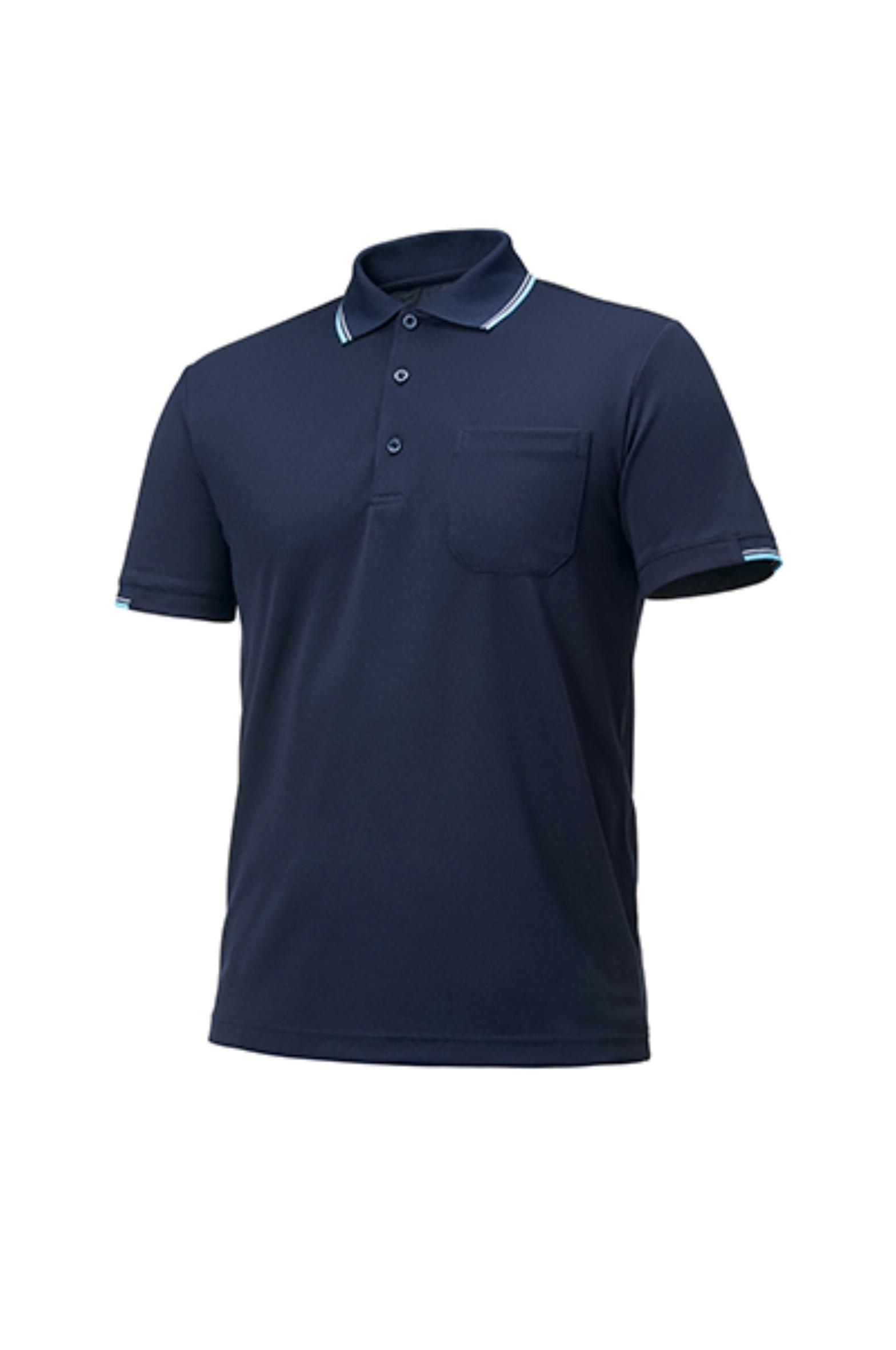 ZB-T1032 (네이비)지벤 작업복 티셔츠(쿨론)
