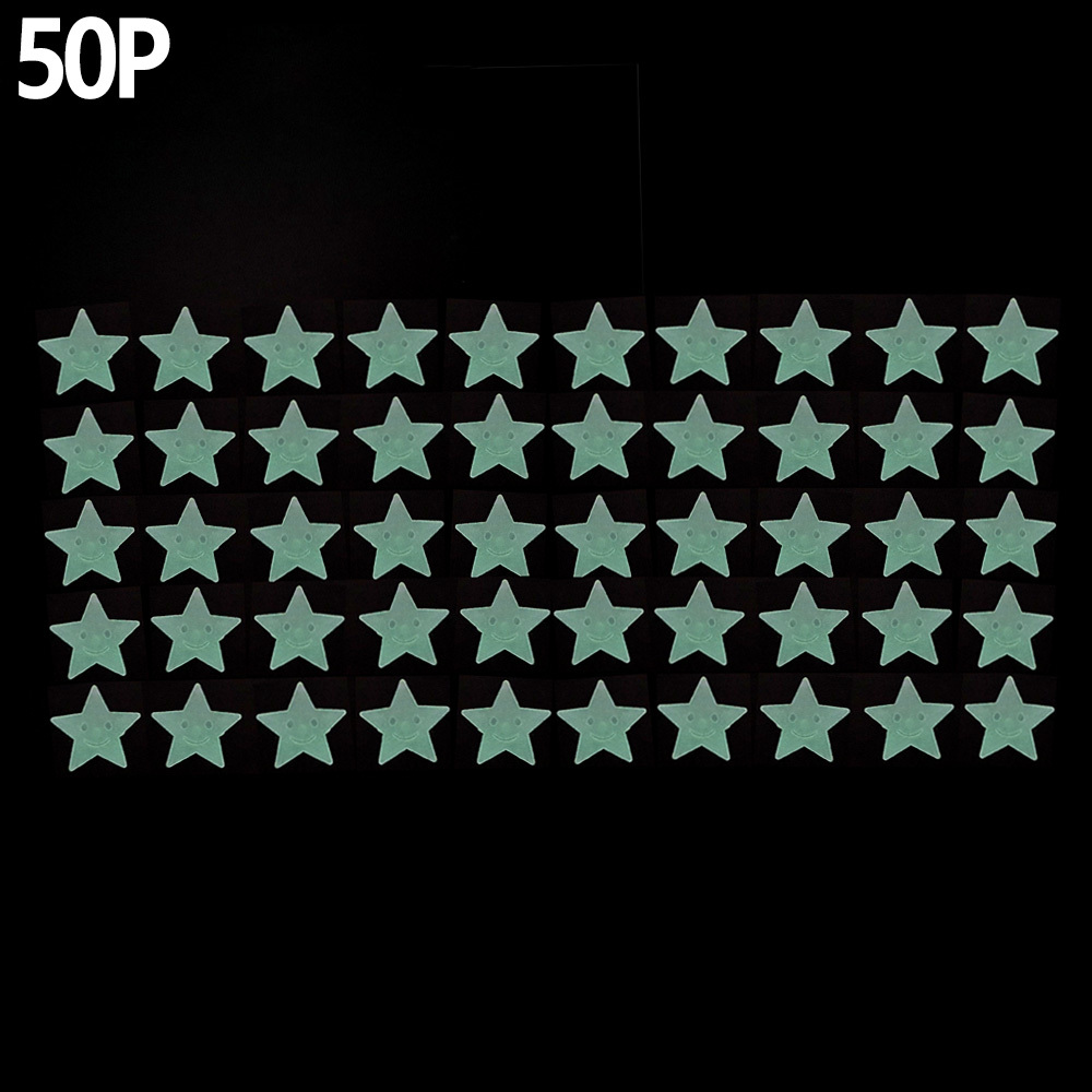 50P 미니 야광별 스티커 별자리꾸미기 별자리 야광별 야광별스티커 야광스티커