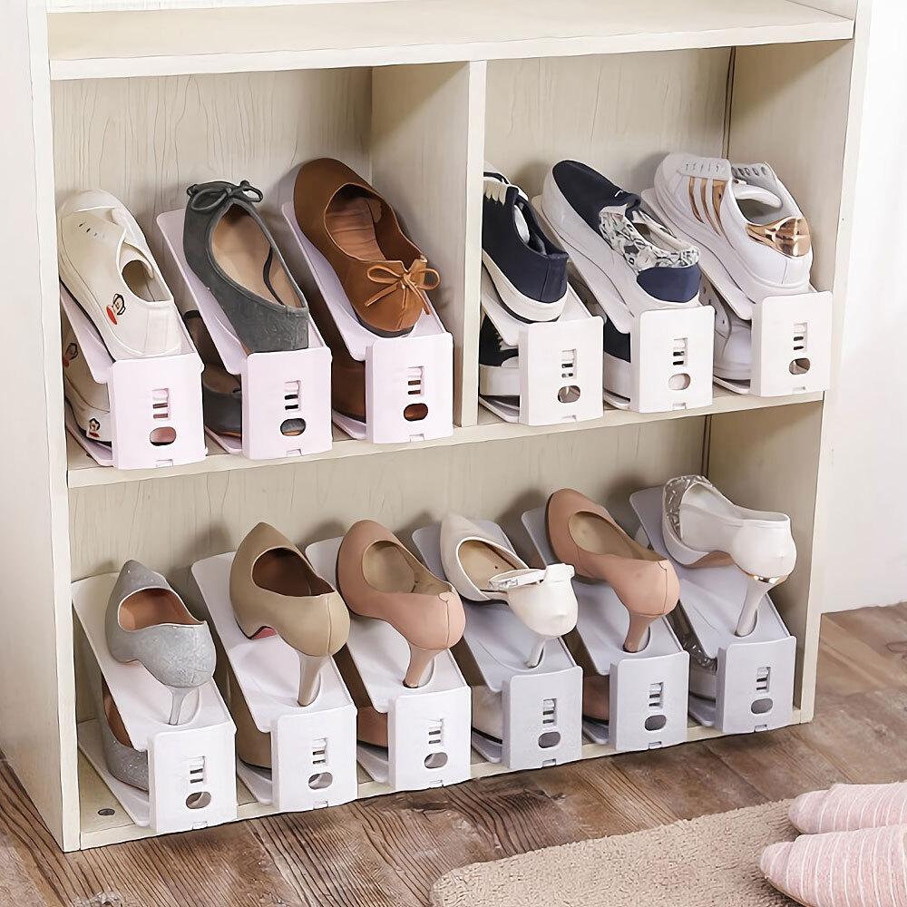 높이조절 신발정리대 슈즈랙 신발정리대 신발정리함 높이조절신발정리 신발수납 신발정리