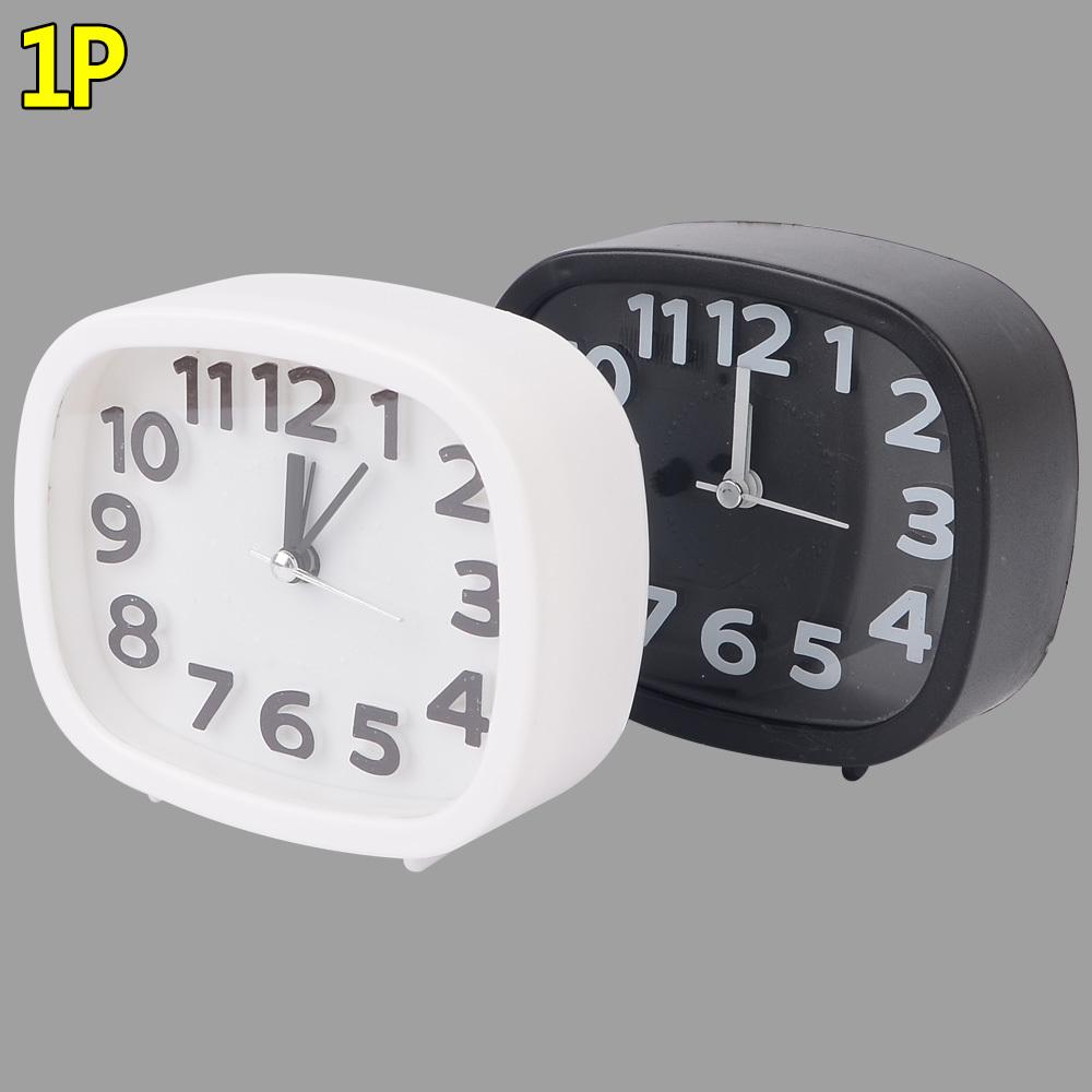 무소음 심플 라운드 탁상시계 라운드탁상시계 알람시계 탁상시계 무소음탁상시계 심플탁상시계