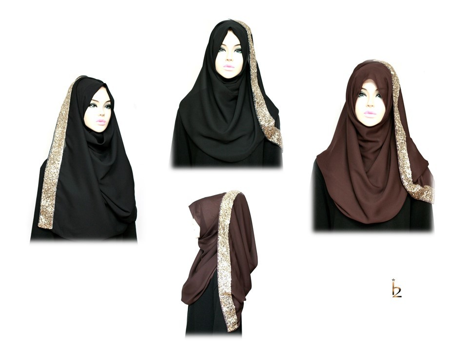 [ The twelve ] TH103[The twelve] Stylishly Designed Hijab Scarves Series