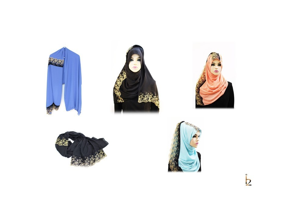 [ The twelve ] 日123 [十二]设计时尚的头巾围巾系列