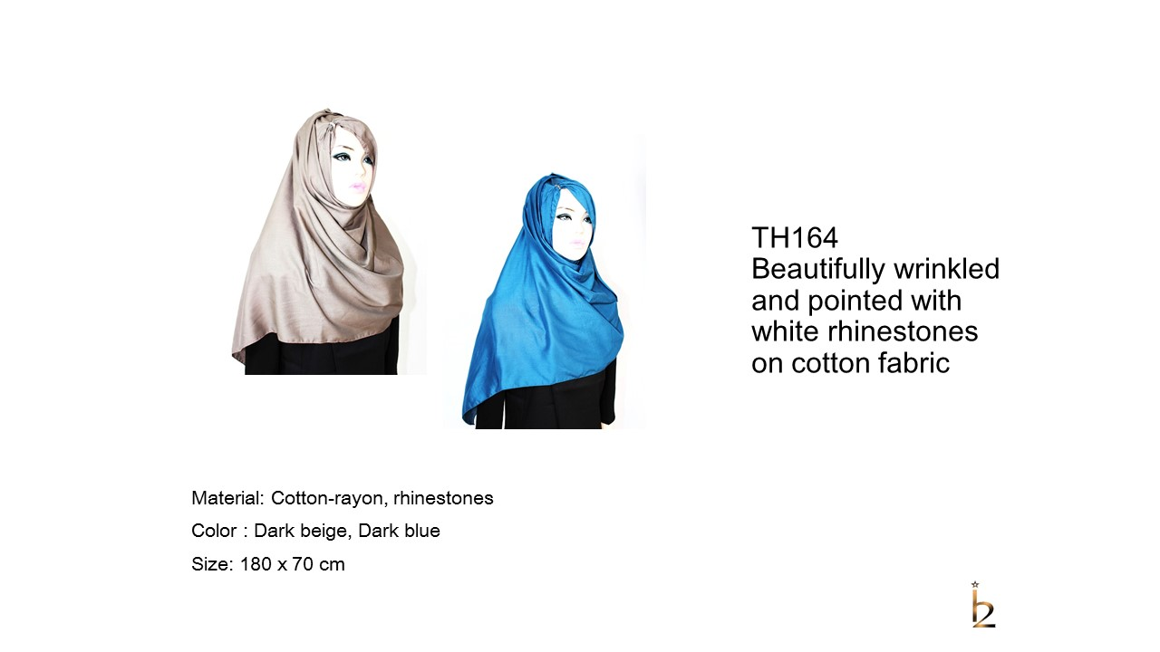 [ The twelve ] TH164[The twelve] Stylishly Designed Hijab Scarves Series