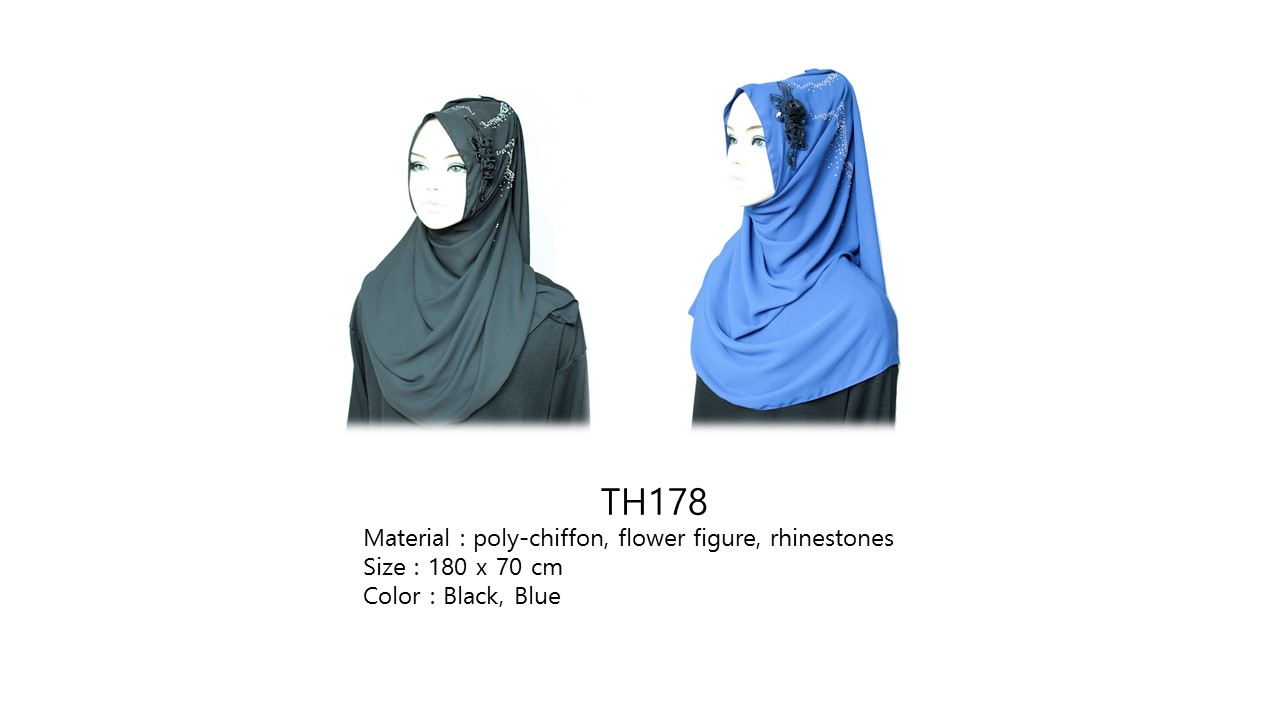 [ The twelve ] TH178[The twelve] Stylishly Designed Hijab Scarves Series