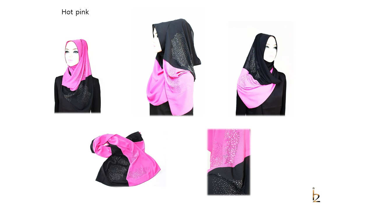 [ The twelve ] TH152[The twelve] Stylishly Designed Hijab Scarves Series