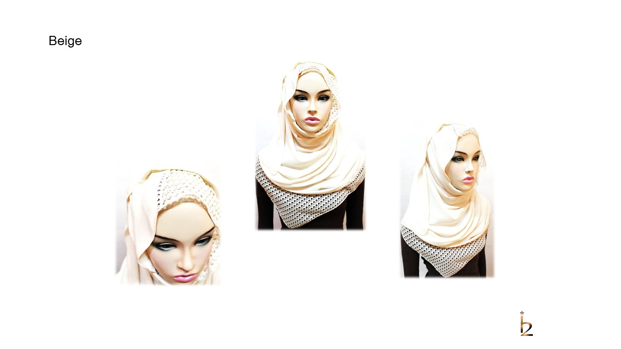 [ The twelve ] TH167[The twelve] Stylishly Designed Hijab Scarves Series