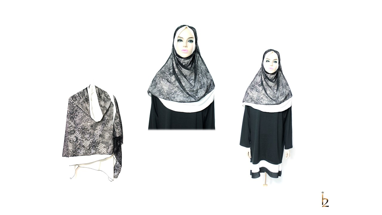 [ The twelve ] TH174[The twelve] Stylishly Designed Hijab Scarves Series