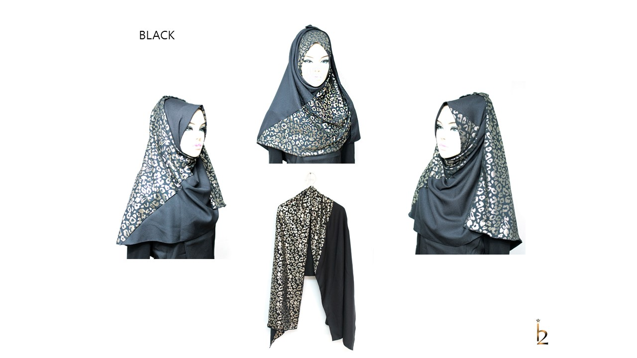 [ The twelve ] TH170[The twelve] Stylishly Designed Hijab Scarves Series