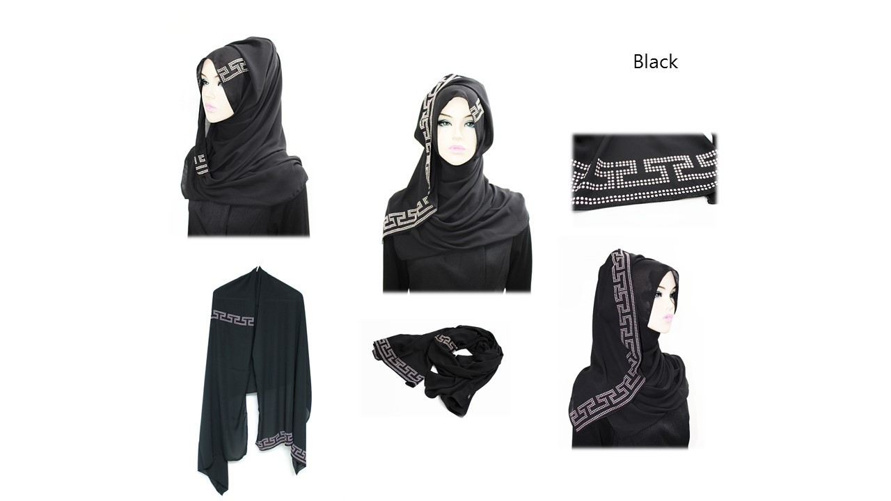[ The twelve ] TH150[The twelve] Stylishly Designed Hijab Scarves Series