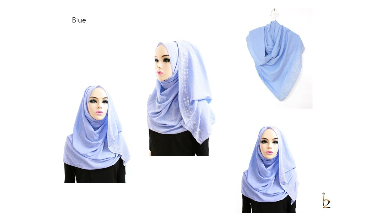 [ The twelve ] TH154[The twelve] Stylishly Designed Hijab Scarves Series