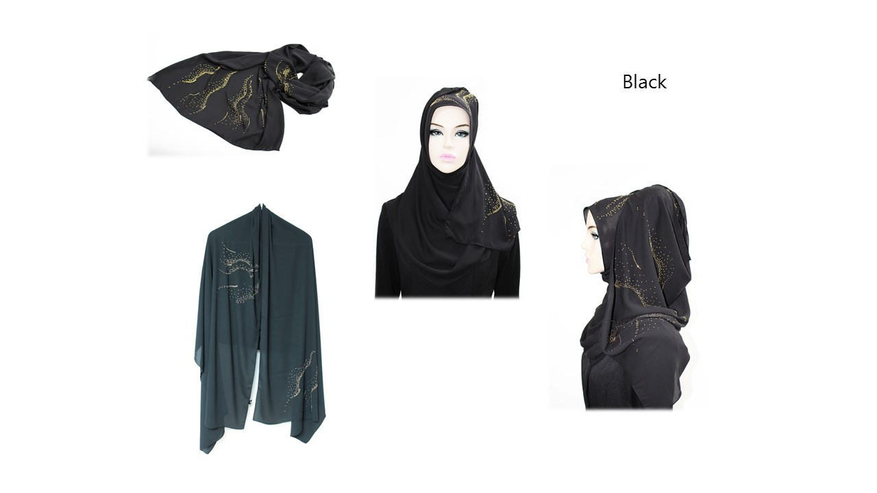[ The twelve ] TH149[The twelve] Stylishly Designed Hijab Scarves Series