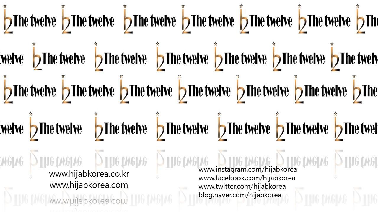 [ The twelve ] 日181 [十二]设计时尚的头巾围巾系列