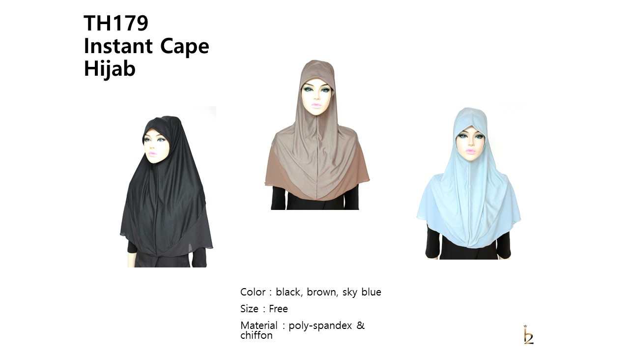 [ The twelve ] TH179[The twelve] Stylishly Designed Hijab Scarves Series