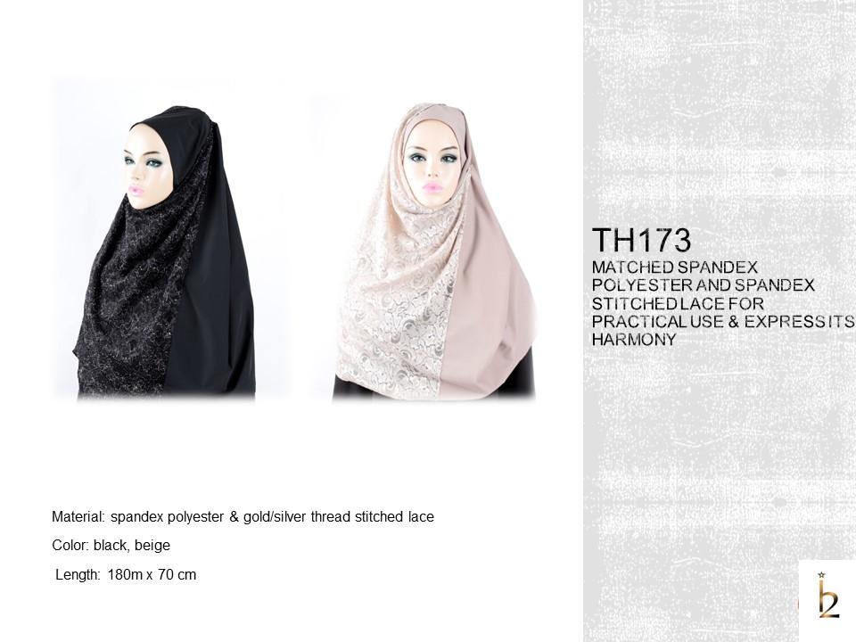 [The Twelve] Women`s Stylish Hijab Scarf TH173