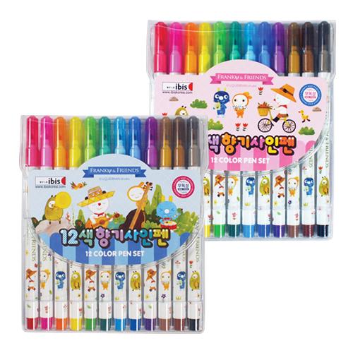 4000 12색향기사인펜(FR)
