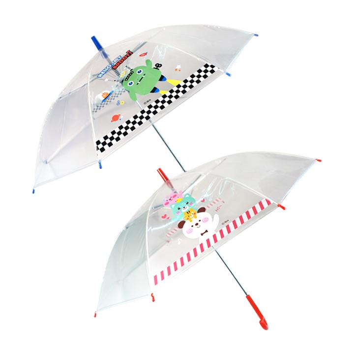 7000 투명아동장우산(CR)-레드