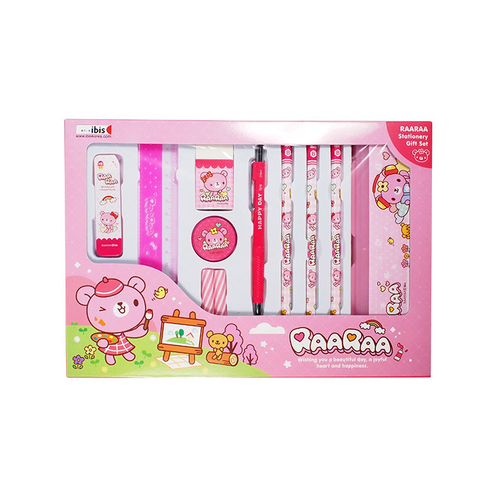 4000 문구선물세트2(CR)-핑크