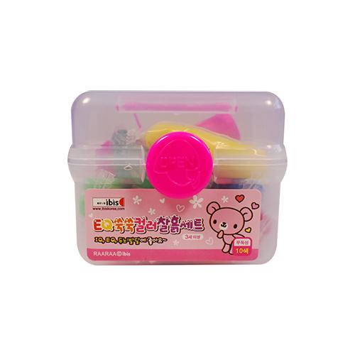 2500 EQ쑥쑥컬러찰흙세트(CR)-핑크