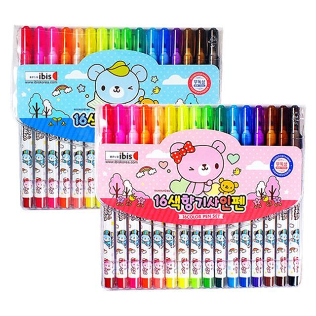 5000 16색향기사인펜(CR)-핑크