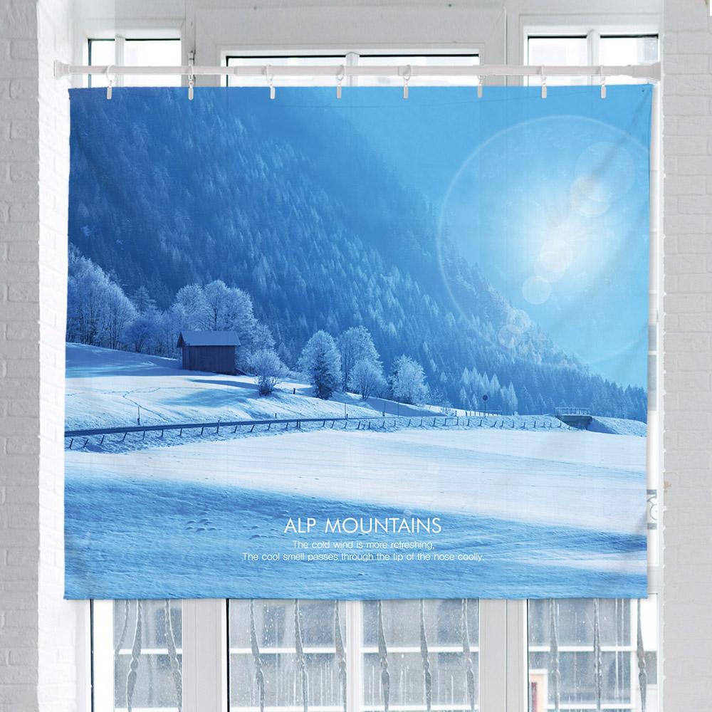 [패브릭포스터] 알프스마운틴 150x130cm