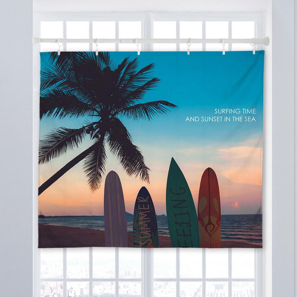 [패브릭포스터] 서핑인썬셋 150x130cm