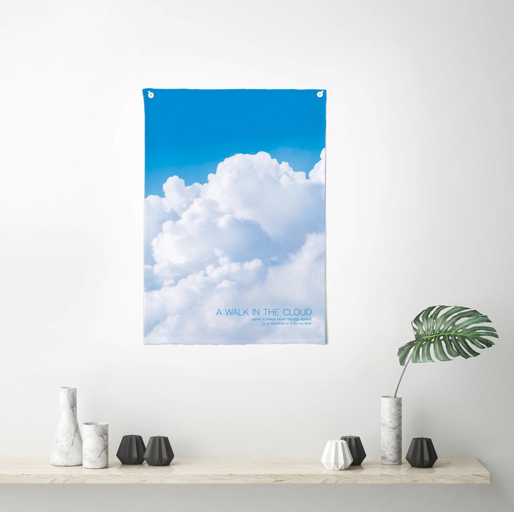 [패브릭포스터]인더클라우드 50x70cm