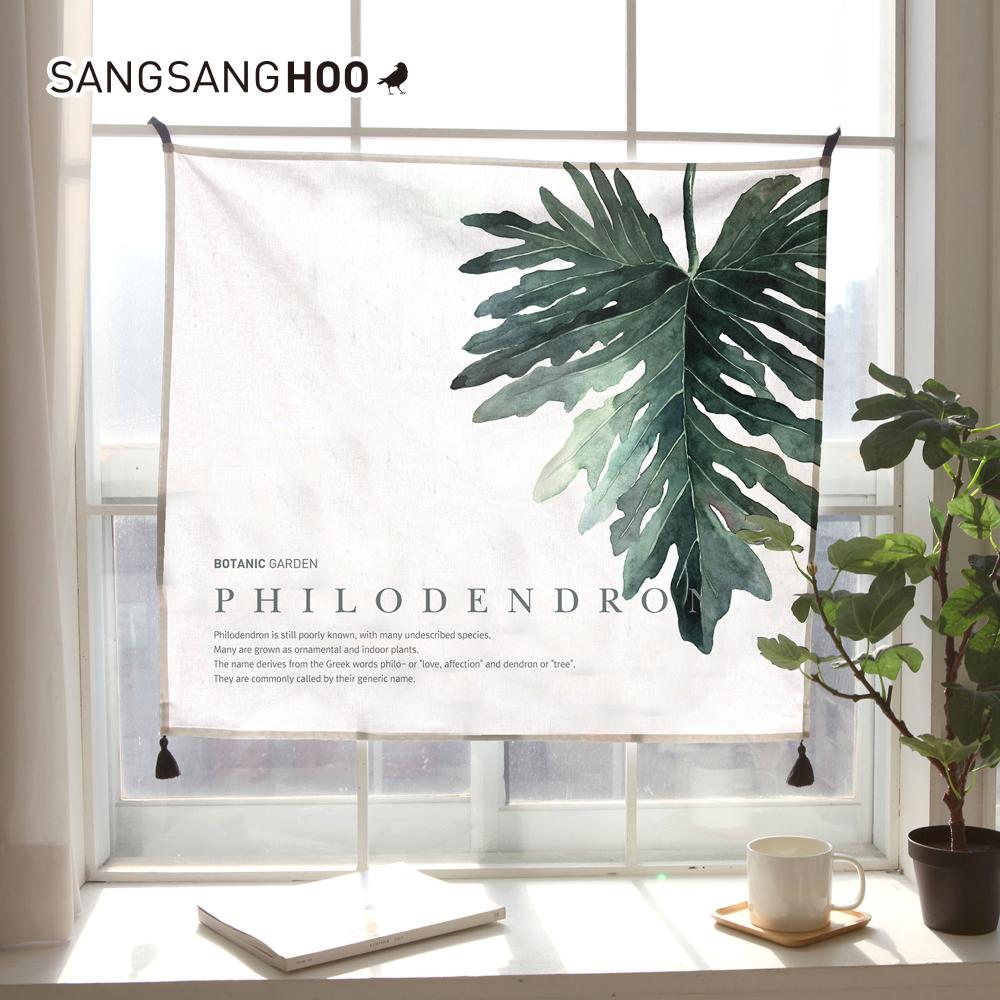 [패브릭포스터] 세렌디피티 필로덴드론 80x72cm