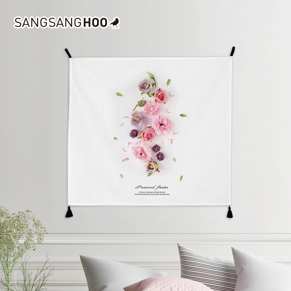 [패브릭포스터] 핑크프리저브드 80x72cm