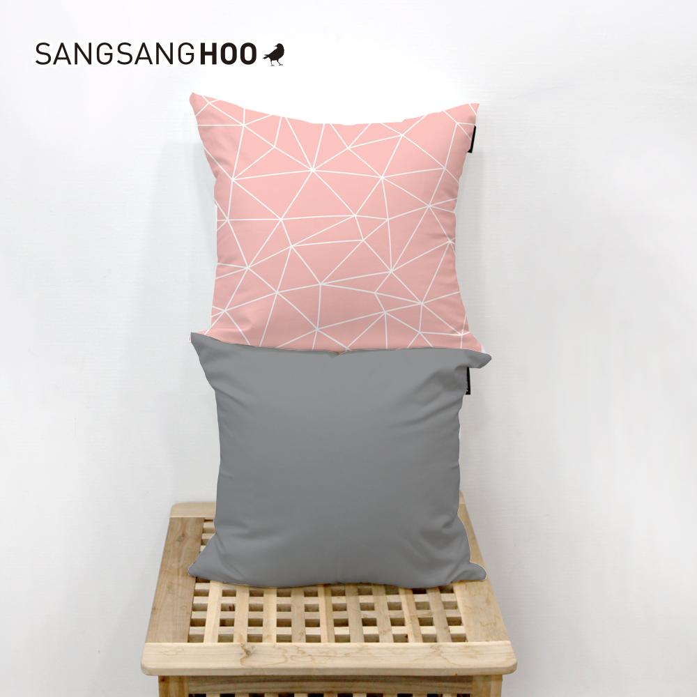 [쿠션커버] 핑크 쥬얼리핑크 45x45cm