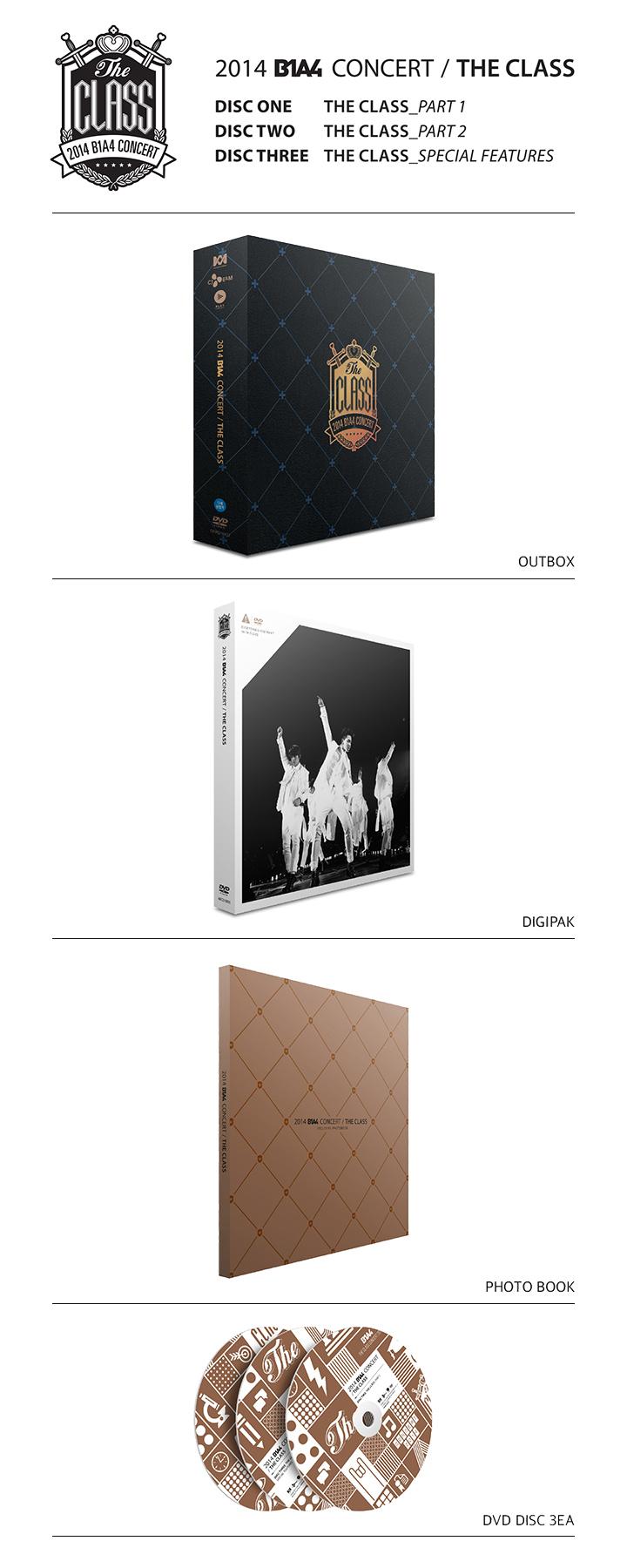 [B1A4] Live DVD (The Class Concert)