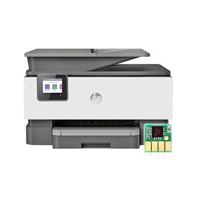 HP Officejet Pro 9010 무한잉크 프린터 복합기 틴텍 무칩 병행수입