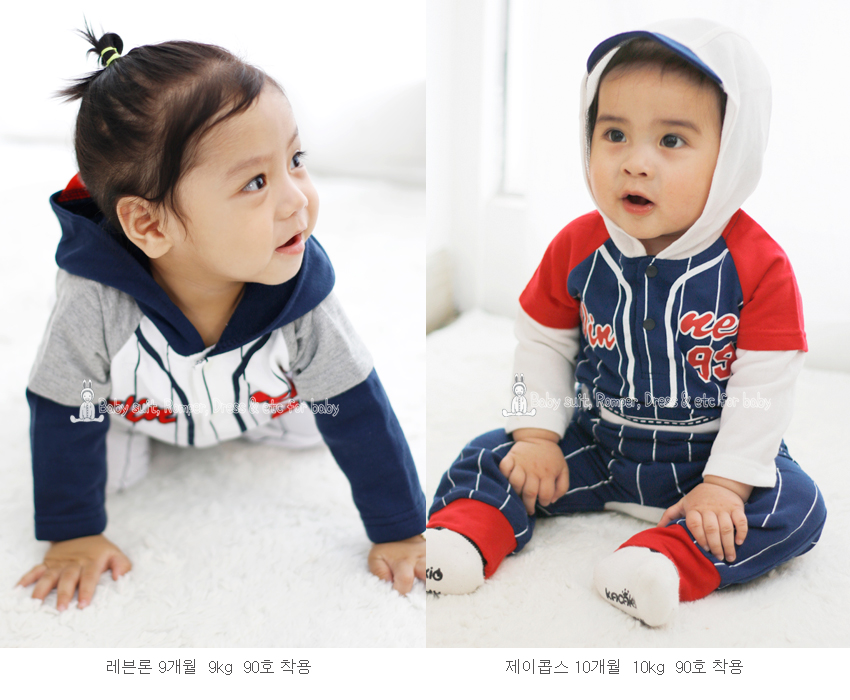 [ BABYMAX ] 1206 Hood Baseball Up and Down (Ryu Hyunjin 99)