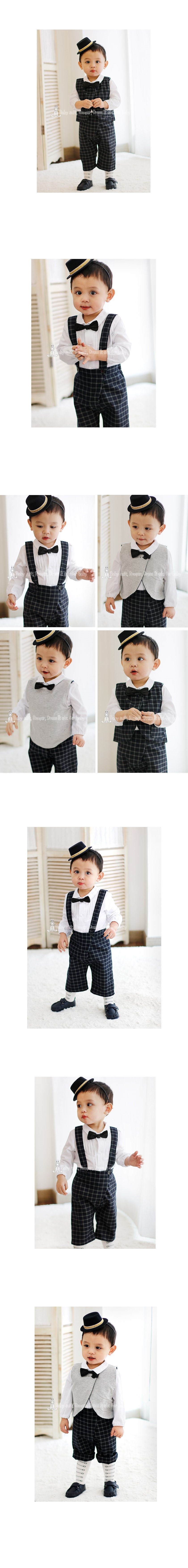 [ BABYMAX ] Jude Reversible Suit 1284