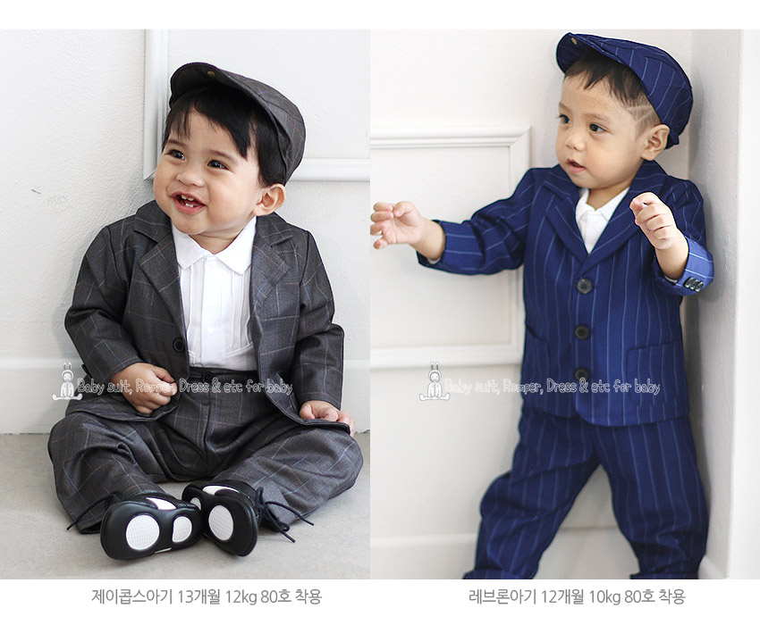 [ BABYMAX ] 1285 William stripe suit