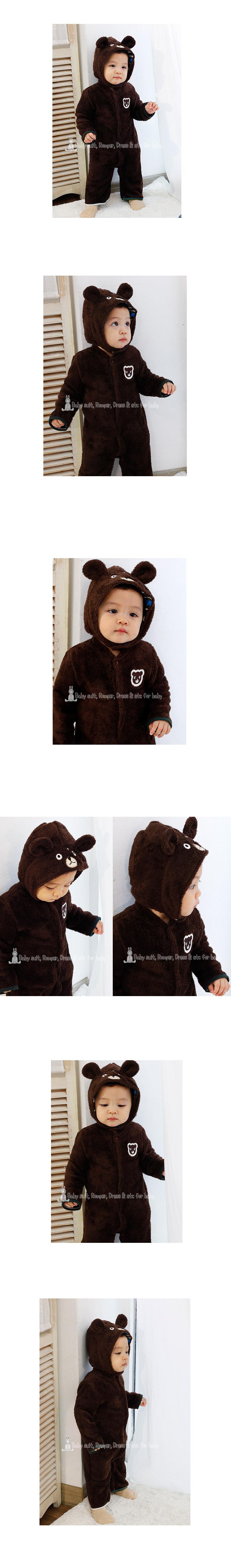 [ BABYMAX ] [ BABYMAX ] 7069 有雾的动物帽 Romper
