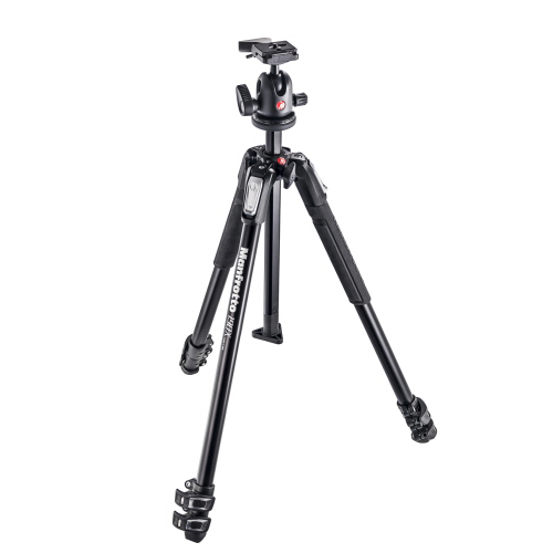 MK190X3-BH 190X kit - alu 3-section tripod + 496RC2 ball head