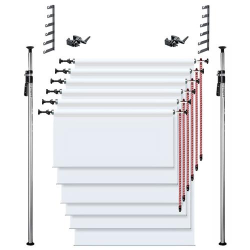 6 roll Autopole Background Set (배경지불포함)