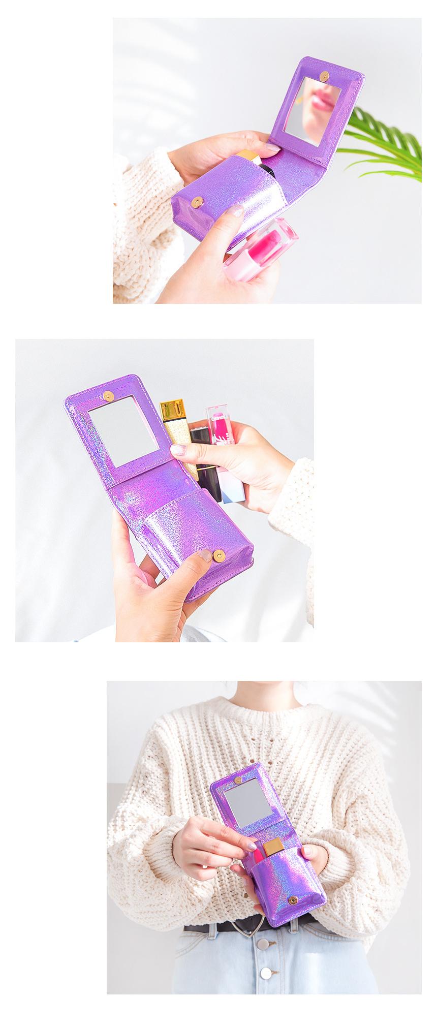 벤토이 러블리클럽 립스틱케이스 - 251w, 12,400원, 메이크업 파우치, 끈/주머니형